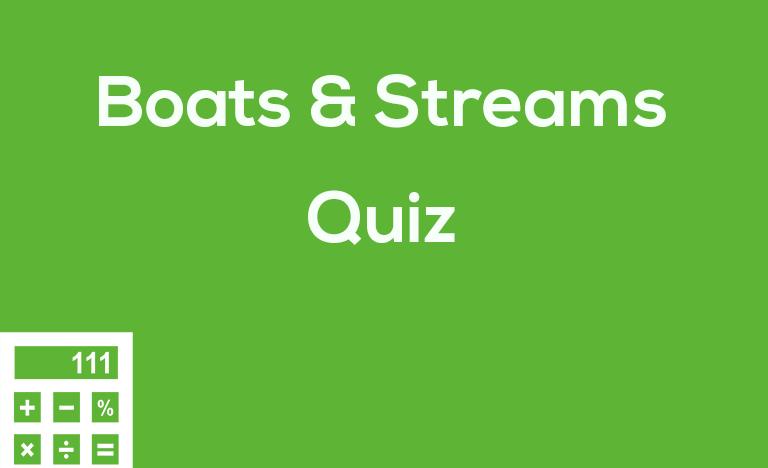 Boats & Streams Quiz